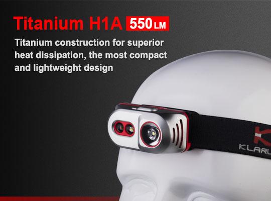 KLARUS Titanium H1A